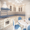 Дизайн кухни 9,5 кв.м
