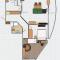Планировка 2шки, 83м (ЖК Ракета - Самара)