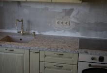Кухонная столешница из кварцевого агломерата в Павшинской пойме