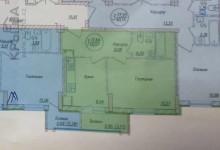 1 комнатная квартира, как организовать пространство