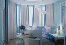 Дизайн проект спальни в типовом доме