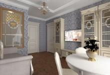 Дизайн сталинки – дизайн-проект интерьера двухкомнатной квартиры