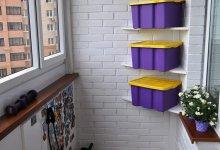 33 квадратных метра в легком кантри: прихожая и балкон