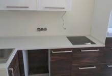 Кухонная столешница из кварцевого агломерата, Бутово