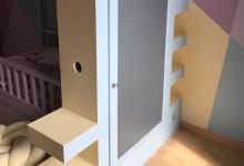 Меловая дверца в шкафчике