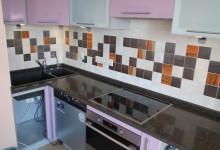 Кухонная столешница с плинтусом