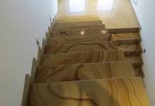 Лестница из кварцита