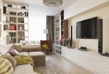Tribuca -86m | Квартира в современном стиле