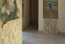"Проект ""Египет"": декорирование коридора"