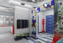 Интерьер квартиры в авангардном стиле