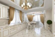 Интерьер дома, 380 кв. метров
