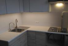 Кухонная столешница из кварцевого агломерата в Свиблово