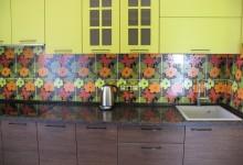 Кухонная столешница Тен Браун на Озерковской