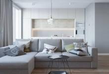 Admirala Tributsa - 94 M | Дизайн квартиры в стиле легкий минимализм 94 кв. м