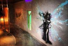 Роспись стен в ночном клубе МОНРО