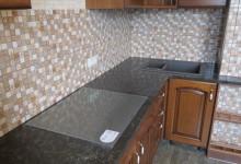 Кухонная столешница из кварцевого агломерата, Зябликово
