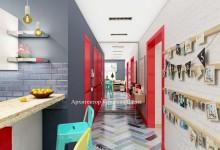 Красный цвет в интерьере: цветовые сочетания и дизайн