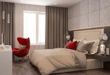 ORDZHONIKIDZE - 87 M | Интерьер квартиры в современном стиле