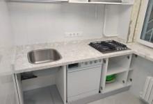 Кухонная столешница из мраморного конгломерата