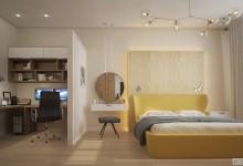 Stachek 78m | Дизайн квартиры в современном стиле с элементами классики