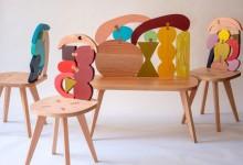 Натюрморт на спинке стула