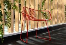 Металлический стул: петля Мебиуса