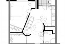 Перепланировка 2-х комнатной квартиры в хрущевке, с фото