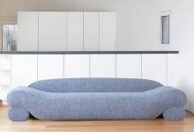 На бобах: диван из природных материалов