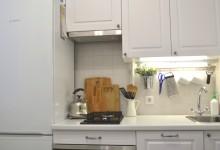 Белая кухня в белом-белом доме, или как вместить невместимое