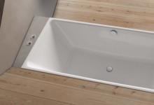 Два варианта для минималистичной ванной