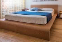 Пробковая кровать - эстетично и экологично