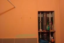 Бюджетный-ипотечный освежающий ремонт ванной комнаты