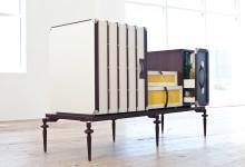 Бон вояж! Мебель из чемоданов
