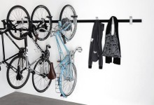 И вновь о хранении велосипеда...