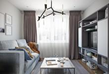 Квартира 44 кв.м. в современном стиле в ЖК Новое Тушино