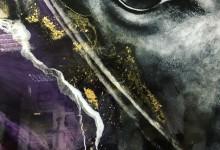 Черныш (черный конь) в абстракции