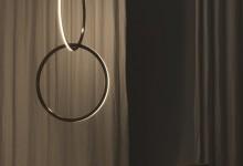 Цепи и кольца: необычные светильники