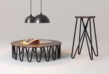 Высокий стул и низкий столик: не запутаться в ножках