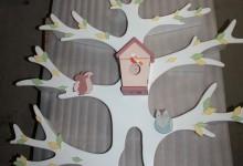 Дерево-стеллаж в детскую