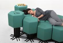 Интерактивная мебель: диван будущего