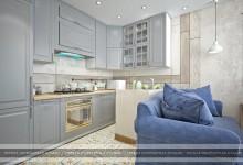 Дизайн 3-комнатной квартиры в ЖК