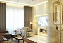 Дизайн частных апартаментов Москва (80 кв.м.)