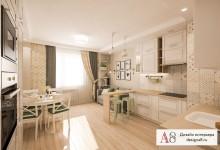Дизайн двухкомнатной квартиры в скандинавском стиле