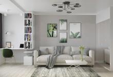Дизайн интерьера квартиры 97 серии