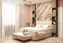 Дизайн интерьера в пудровых оттенках