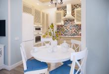 Дизайн Кухни гостиной 20,5 кв.м