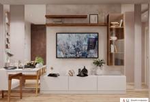 Дизайн однокомнатной квартиры 48 кв. м