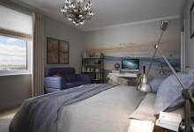 Дизайн-проект двухкомнатной квартиры в смешанном стиле