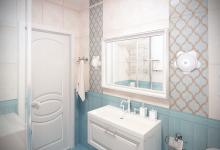 Дизайн ванной комнаты 4,5 кв.м