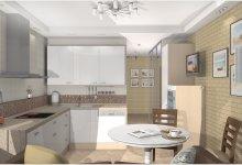 Дизайн проект 2-х комнатной квартиры П-44Т
